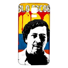 Pablo Escobar Samsung Galaxy S5 Back Case (white) by Valentinaart