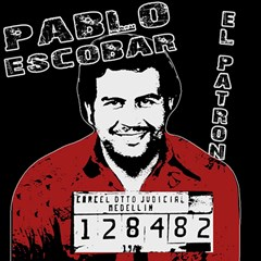 Pablo Escobar Canvas 20  X 20   by Valentinaart