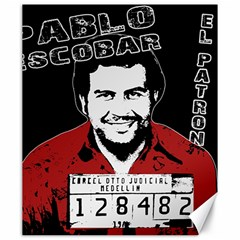Pablo Escobar Canvas 20  X 24   by Valentinaart