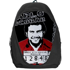 Pablo Escobar Backpack Bag by Valentinaart