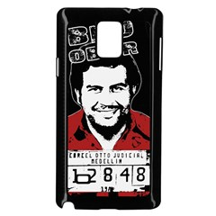 Pablo Escobar Samsung Galaxy Note 4 Case (black)