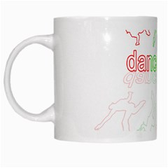 Dance Is Life White Mugs by Valentinaart
