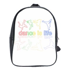 Dance Is Life School Bags(large)