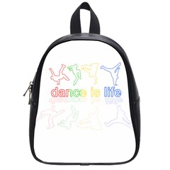 Dance Is Life School Bags (small)  by Valentinaart