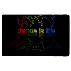 Dance Is Life Apple Ipad 3/4 Flip Case by Valentinaart