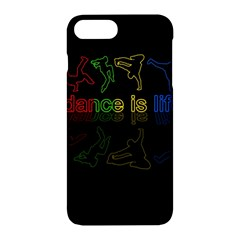 Dance Is Life Apple Iphone 7 Plus Hardshell Case by Valentinaart
