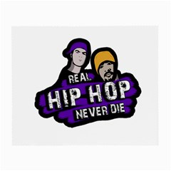 Real Hip Hop Never Die Small Glasses Cloth