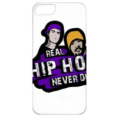 Real Hip Hop Never Die Apple Iphone 5 Classic Hardshell Case by Valentinaart