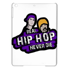 Real Hip Hop Never Die Ipad Air Hardshell Cases by Valentinaart