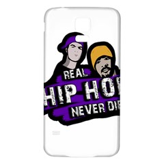 Real Hip Hop Never Die Samsung Galaxy S5 Back Case (white)