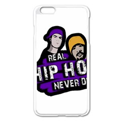 Real Hip Hop Never Die Apple Iphone 6 Plus/6s Plus Enamel White Case