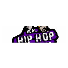 Real Hip Hop Never Die Satin Scarf (oblong) by Valentinaart