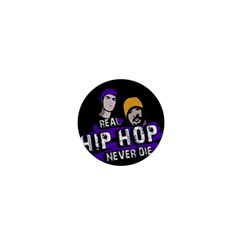 Real Hip Hop Never Die 1  Mini Buttons by Valentinaart
