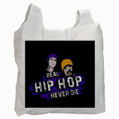 Real Hip Hop Never Die Recycle Bag (two Side)