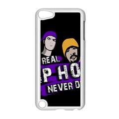 Real Hip Hop Never Die Apple Ipod Touch 5 Case (white)