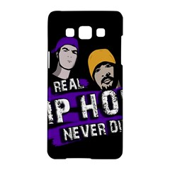 Real Hip Hop Never Die Samsung Galaxy A5 Hardshell Case