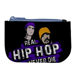 Real Hip Hop Never Die Large Coin Purse