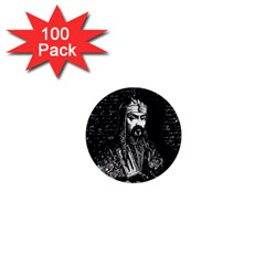 Attila The Hun 1  Mini Magnets (100 Pack)  by Valentinaart
