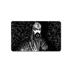 Attila The Hun Magnet (name Card) by Valentinaart