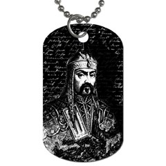 Attila The Hun Dog Tag (two Sides) by Valentinaart