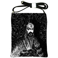 Attila The Hun Shoulder Sling Bags by Valentinaart