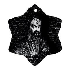 Attila The Hun Ornament (snowflake)