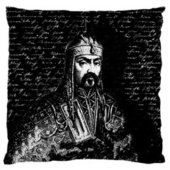 Attila The Hun Large Cushion Case (one Side) by Valentinaart