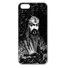 Attila The Hun Apple Seamless Iphone 5 Case (clear) by Valentinaart