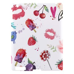 Hand Painted Summer Background  Apple Ipad 3/4 Hardshell Case by TastefulDesigns