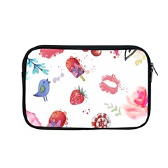 Hand Painted Summer Background  Apple Macbook Pro 13  Zipper Case by TastefulDesigns