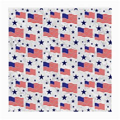 Flag Of The Usa Pattern Medium Glasses Cloth (2 Side) by EDDArt