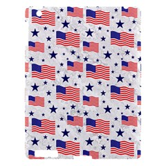 Flag Of The Usa Pattern Apple Ipad 3/4 Hardshell Case by EDDArt