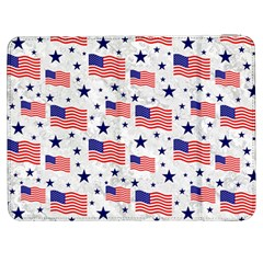 Flag Of The Usa Pattern Samsung Galaxy Tab 7  P1000 Flip Case by EDDArt