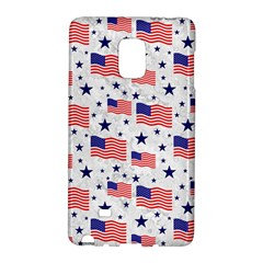 Flag Of The Usa Pattern Galaxy Note Edge by EDDArt