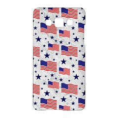 Flag Of The Usa Pattern Samsung Galaxy A5 Hardshell Case  by EDDArt