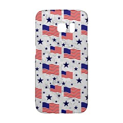 Flag Of The Usa Pattern Galaxy S6 Edge by EDDArt