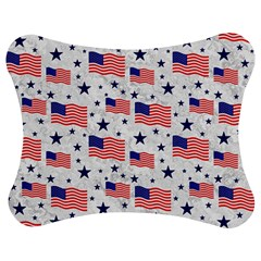 Flag Of The Usa Pattern Jigsaw Puzzle Photo Stand (bow) by EDDArt