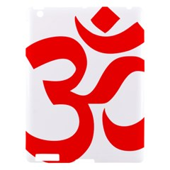 Hindu Om Symbol Apple Ipad 3/4 Hardshell Case by abbeyz71