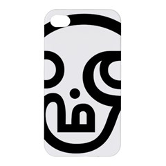 Hindu Om Symbol In Tamil  Apple Iphone 4/4s Premium Hardshell Case by abbeyz71