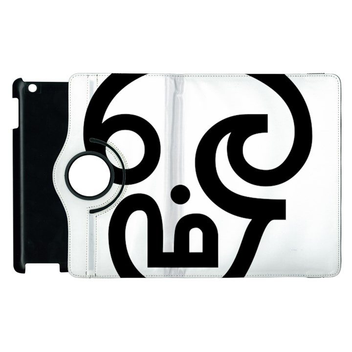 Hindu Om Symbol In Tamil Apple Ipad 2 Flip 360 Case Cowcow