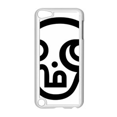 Hindu Om Symbol In Tamil Apple Ipod Touch 5 Case (white) by abbeyz71