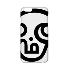 Hindu Om Symbol In Tamil Apple Iphone 6/6s Hardshell Case by abbeyz71