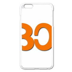 Hindu Om Symbol In Malayalam Script Apple Iphone 6 Plus/6s Plus Enamel White Case by abbeyz71