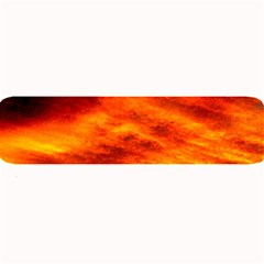 Black Yellow Red Sunset Large Bar Mats by Costasonlineshop