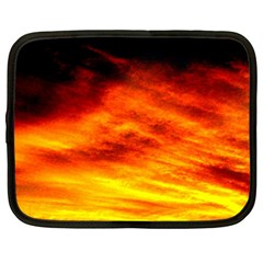 Black Yellow Red Sunset Netbook Case (xxl)  by Costasonlineshop
