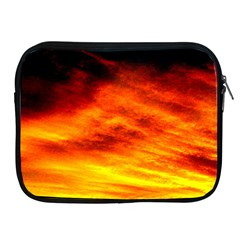 Black Yellow Red Sunset Apple Ipad 2/3/4 Zipper Cases by Costasonlineshop