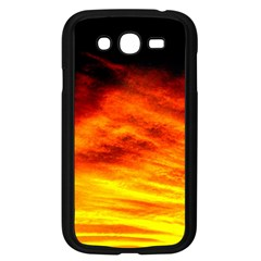 Black Yellow Red Sunset Samsung Galaxy Grand Duos I9082 Case (black) by Costasonlineshop