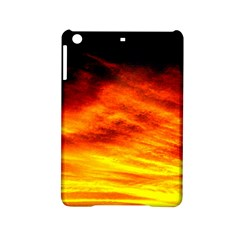 Black Yellow Red Sunset Ipad Mini 2 Hardshell Cases by Costasonlineshop