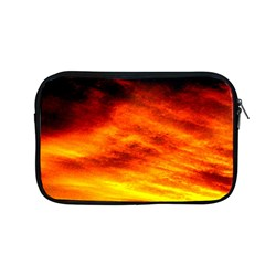Black Yellow Red Sunset Apple Macbook Pro 13  Zipper Case by Costasonlineshop