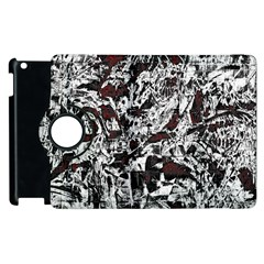 Pattern Apple Ipad 3/4 Flip 360 Case by Valentinaart